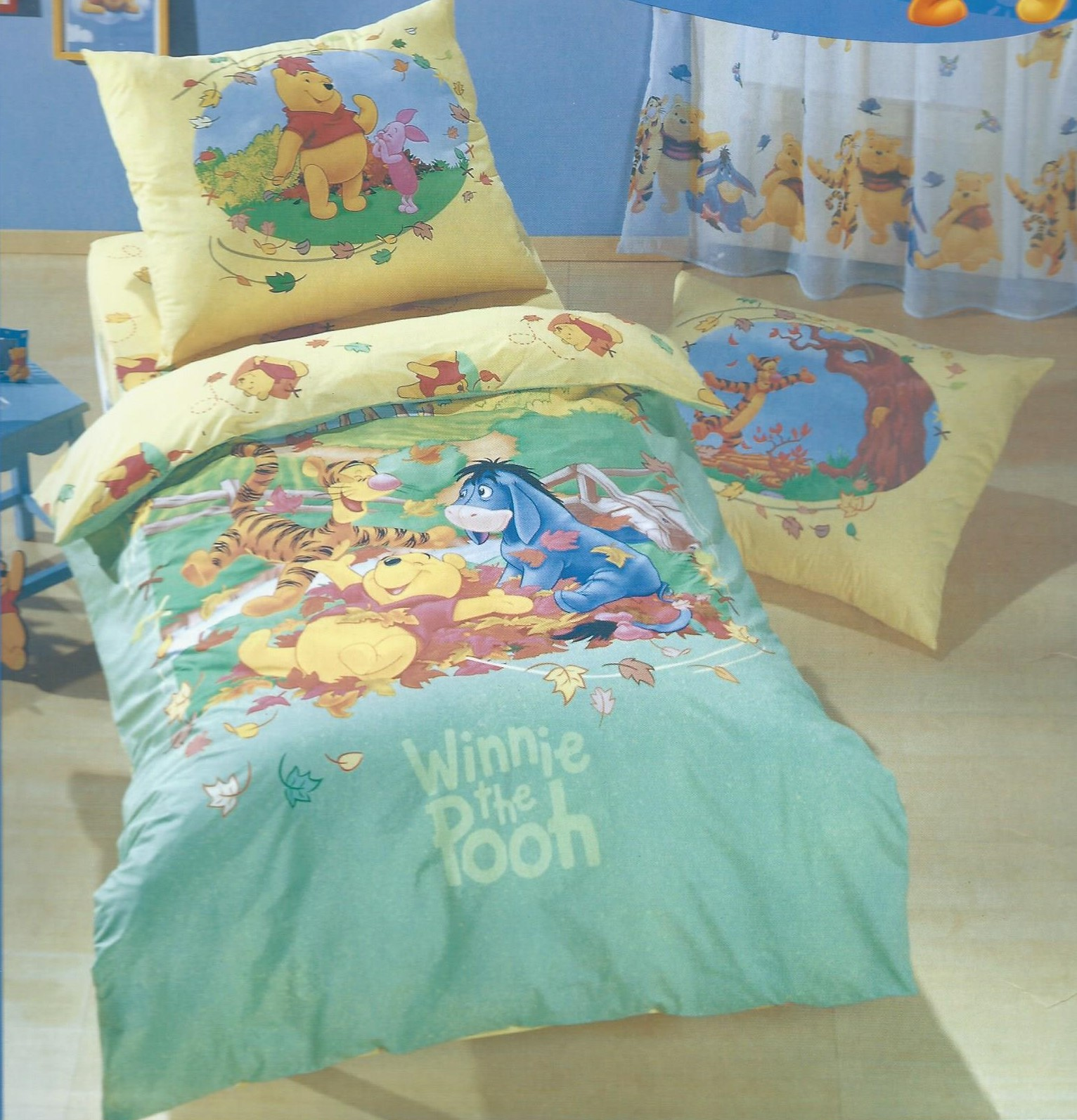 "Kinderovertrekset ""winni the pooh herfst"""