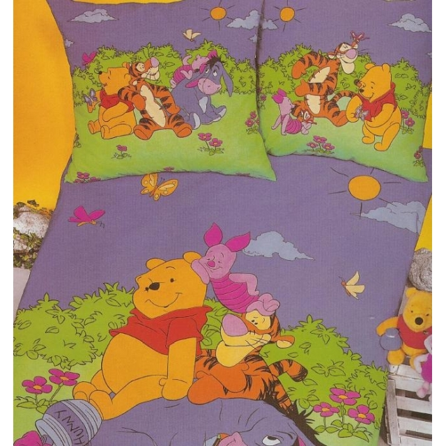 "Kinderovertrekset ""winni the pooh met  vrienden"""