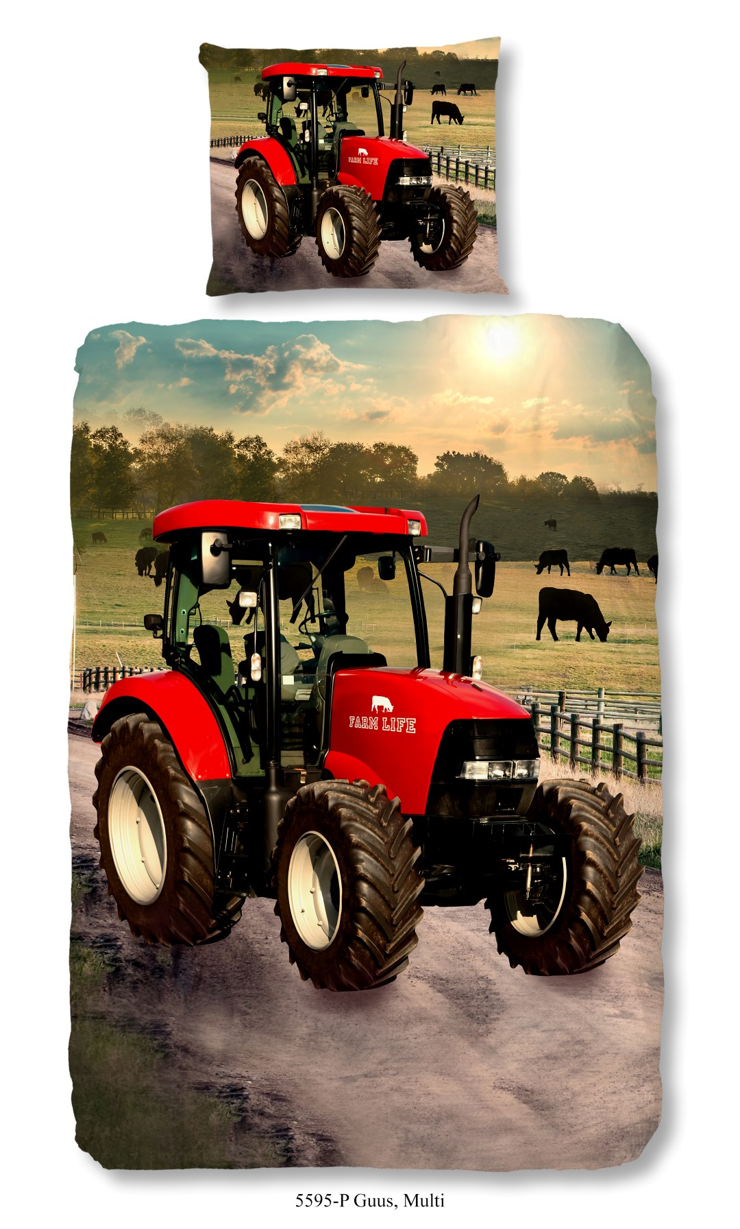 Tractor dekbedovertrek